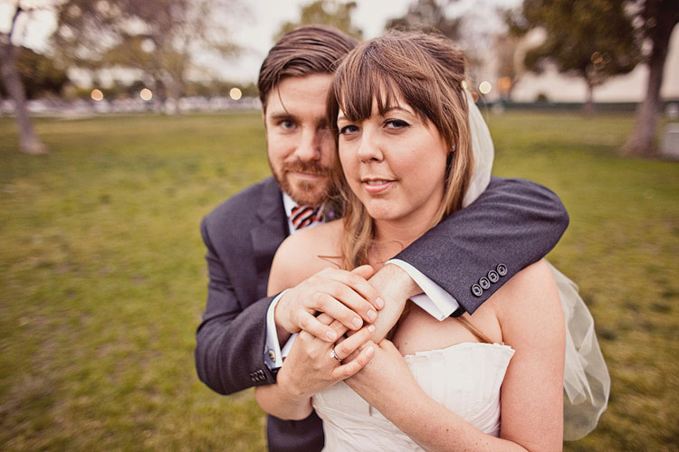 18_super-fun-happy-Los-Angeles-Natural-history-museum-wedding-photos