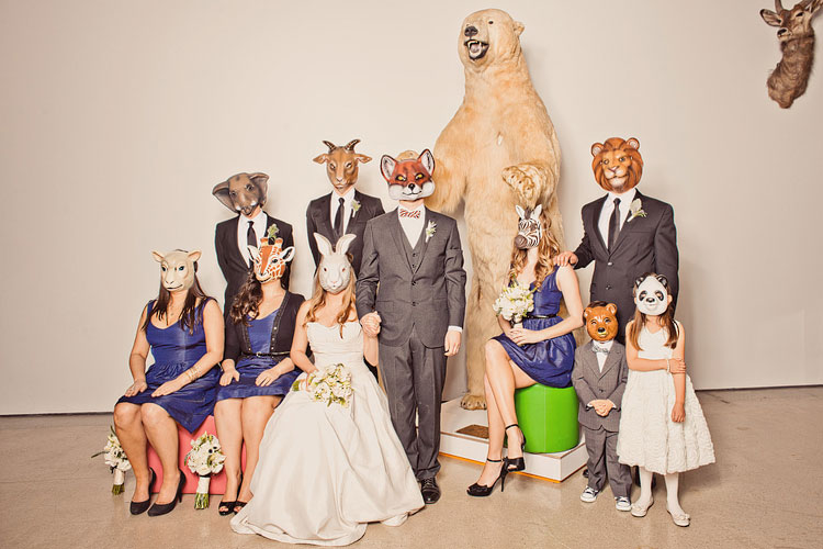 25_super-fun-happy-Los-Angeles-Natural-history-museum-wedding-photos