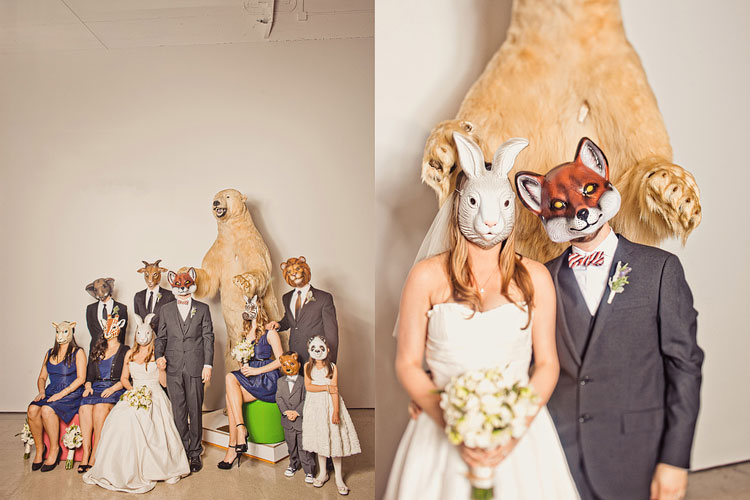 26_super-fun-happy-Los-Angeles-Natural-history-museum-wedding-photos
